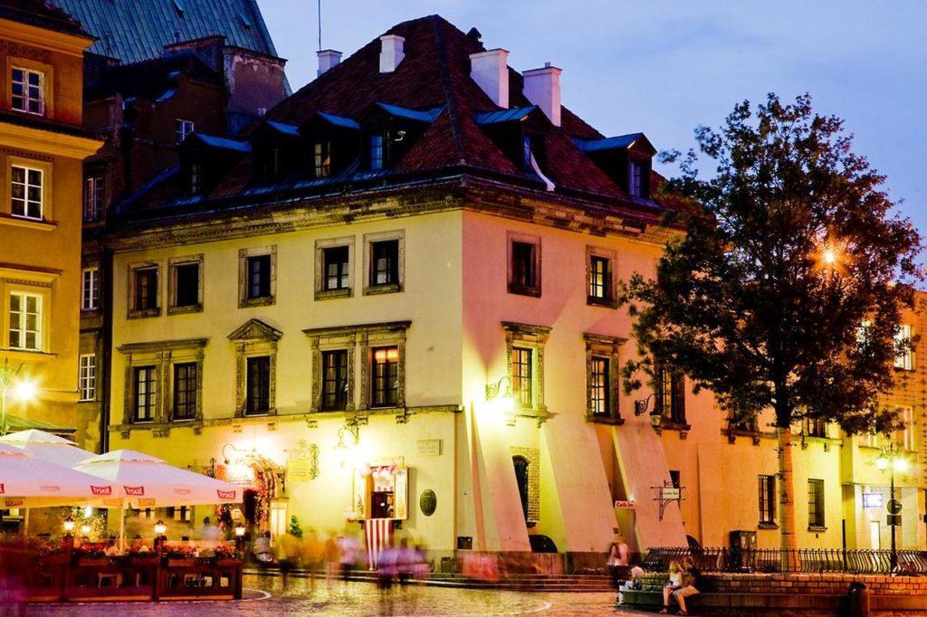 מלון בוטיק בעיר העתיקה ורשה